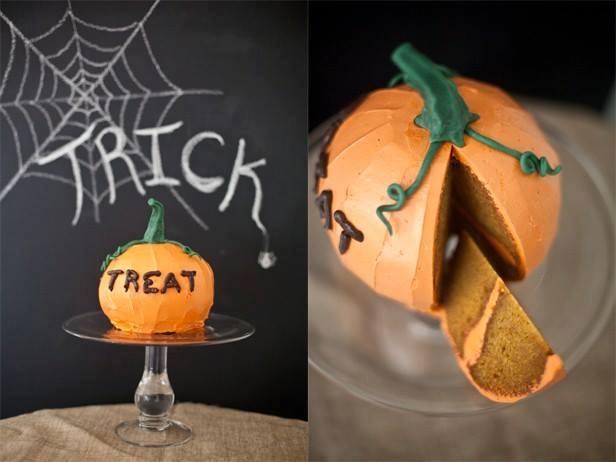 Тыквенный пирог на хэллоуин рецепт с фото
